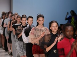 Gail Sorronda makes waves at MBFWA