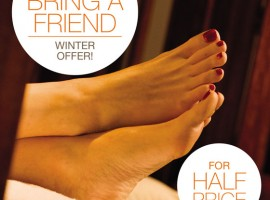 Bring A Friend For Half Price at Thai Foot Spa!