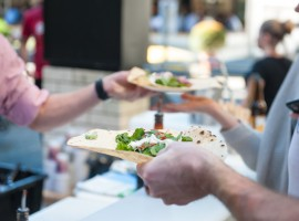 Go global at the James Street Food & Wine Trail!