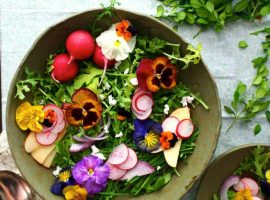Edible Flowers Book Launch at Scrumptious Reads