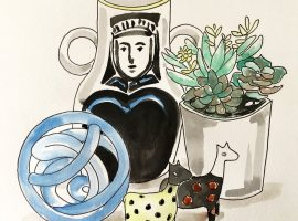 Beginner's illustration workshops at west elm
