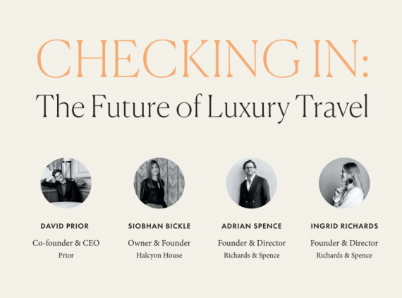 Checking In: The Future of Luxury Travel Presented by The Australian Financial Review Magazine (AFR)