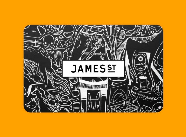 Giftcard for James St