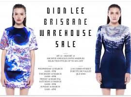 Dion Lee Warehouse Sale!