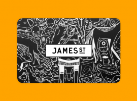 Say hello to the James St Gift Card!