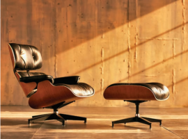 Living Edge Celebrates 60 Years Of The Eames Lounge & Ottoman