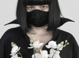 Serious Flower Face Masks by Gail Sorronda