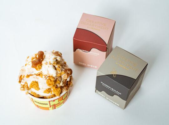 Messina x Maison Balzac = Bougie Parfumée