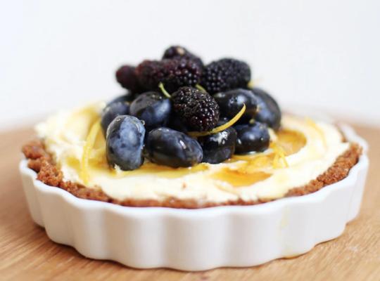 New Recipe | Jocelyn's Provisions: Ginger and Mascarpone Tart